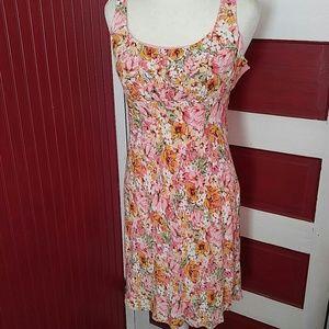 Ann Taylor Loft Floral Dress 6P